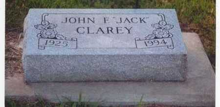 CLAREY, JOHN FRANCIS JR. (JACK) - Plymouth County, Iowa | JOHN FRANCIS JR. (JACK) CLAREY