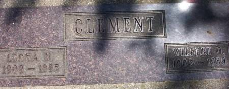 CLEMENT, WILBERT OTTO - Plymouth County, Iowa | WILBERT OTTO CLEMENT