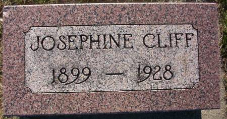 CLIFF, JOSEPHINE - Plymouth County, Iowa | JOSEPHINE CLIFF