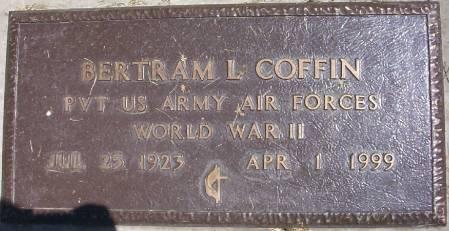 COFFIN, BERTRAM LOSEA