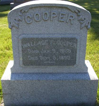 COOPER, WALLACE F. - Plymouth County, Iowa | WALLACE F. COOPER