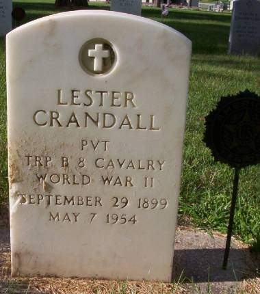 CRANDALL, LESTER - Plymouth County, Iowa | LESTER CRANDALL