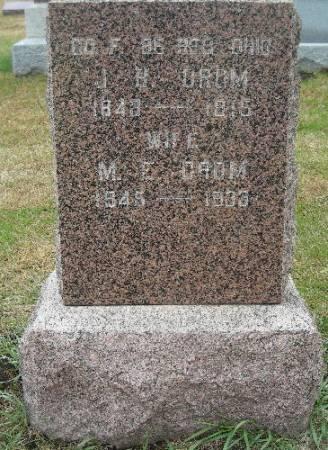 CROM, JEREMIAH B. - Plymouth County, Iowa | JEREMIAH B. CROM
