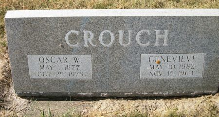 CROUCH, OSCAR W. - Plymouth County, Iowa   OSCAR W. CROUCH