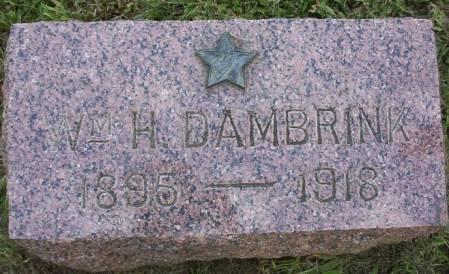 DAMBRINK, WILLIAM H. - Plymouth County, Iowa   WILLIAM H. DAMBRINK