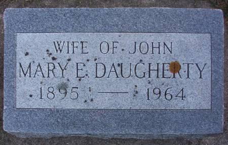 DAUGHERTY, MARY E. - Plymouth County, Iowa   MARY E. DAUGHERTY