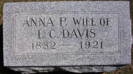 DAVIS, ANNA P. - Plymouth County, Iowa | ANNA P. DAVIS