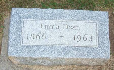DEAN, EMMA - Plymouth County, Iowa   EMMA DEAN