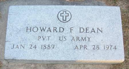 DEAN, HOWARD F. - Plymouth County, Iowa | HOWARD F. DEAN