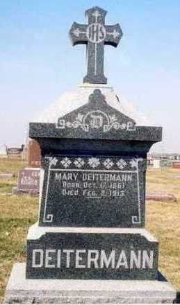 DEITERMANN, MARY - Plymouth County, Iowa   MARY DEITERMANN