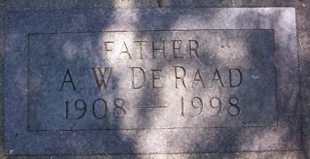 DE RAAD, ARTHUR W. - Plymouth County, Iowa | ARTHUR W. DE RAAD