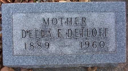 DETLOFF, DELLA E. - Plymouth County, Iowa | DELLA E. DETLOFF