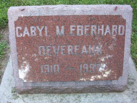 EBERHARD DEVEREAUX, CARYL M. - Plymouth County, Iowa | CARYL M. EBERHARD DEVEREAUX