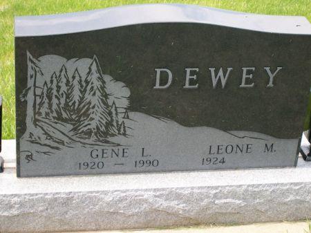 DEWEY, GENE L. - Plymouth County, Iowa   GENE L. DEWEY