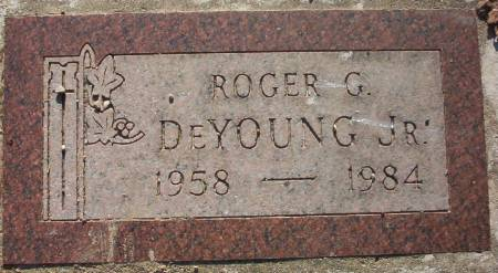 DE YOUNG, ROGER G., JR. - Plymouth County, Iowa | ROGER G., JR. DE YOUNG