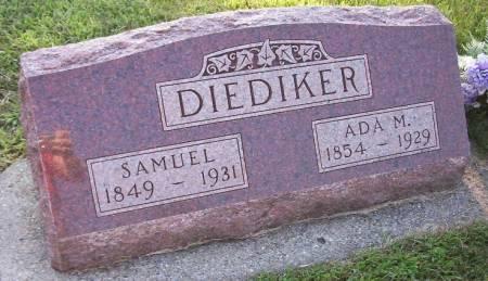 DIEDIKER, ADA MARY - Plymouth County, Iowa | ADA MARY DIEDIKER