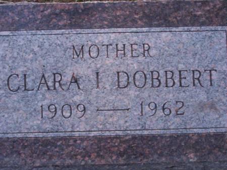 DOBBERT, CLARA I. - Plymouth County, Iowa | CLARA I. DOBBERT