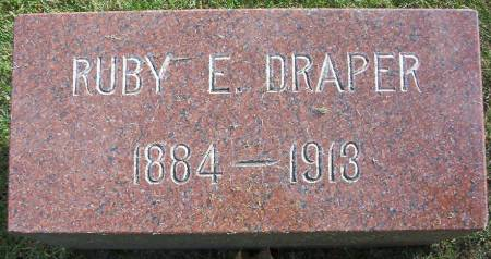 DRAPER, RUBY E. - Plymouth County, Iowa | RUBY E. DRAPER