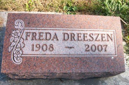DREESZEN, FREDA - Plymouth County, Iowa | FREDA DREESZEN