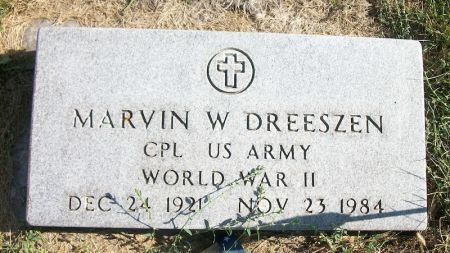 DREESZEN, MARVIN W. - Plymouth County, Iowa | MARVIN W. DREESZEN
