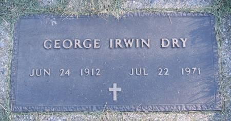 DRY, GEORGE IRWIN - Plymouth County, Iowa | GEORGE IRWIN DRY