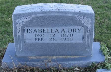 DRY, ISABELLA ALICE - Plymouth County, Iowa | ISABELLA ALICE DRY