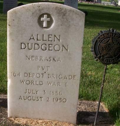 DUDGEON, ALLEN - Plymouth County, Iowa | ALLEN DUDGEON