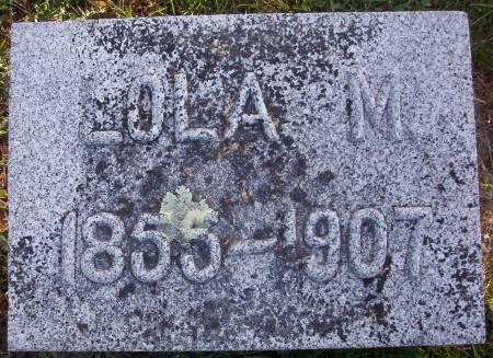DURLEY, LOLA M. - Plymouth County, Iowa   LOLA M. DURLEY