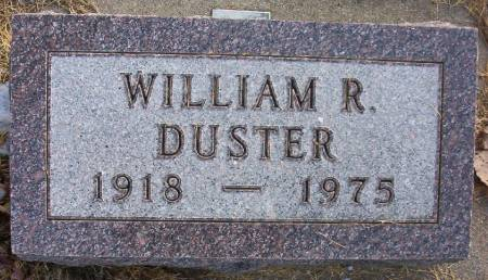 DUSTER, WILLIAM R. - Plymouth County, Iowa   WILLIAM R. DUSTER