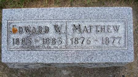 DUUS, EDWARD W. - Plymouth County, Iowa   EDWARD W. DUUS