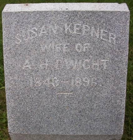 KEPNER DWIGHT, SUSAN - Plymouth County, Iowa   SUSAN KEPNER DWIGHT
