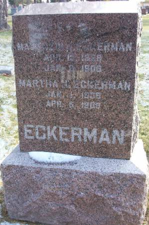 ECKERMAN, MARTHA J. - Plymouth County, Iowa | MARTHA J. ECKERMAN