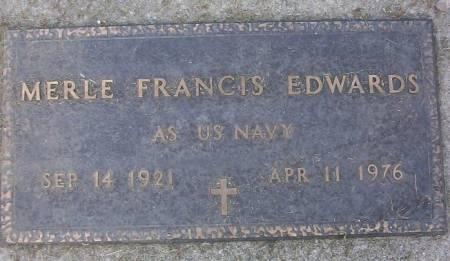 EDWARDS, MERLE FRANCIS - Plymouth County, Iowa | MERLE FRANCIS EDWARDS