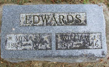 EDWARDS, MINA MABEL - Plymouth County, Iowa | MINA MABEL EDWARDS
