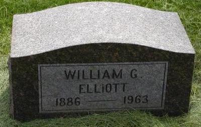 ELLIOTT, WILLIAM G - Plymouth County, Iowa   WILLIAM G ELLIOTT