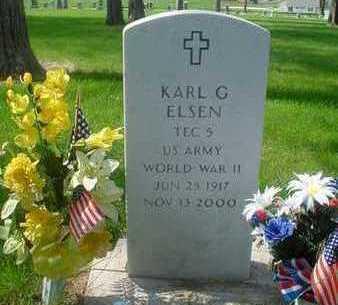 ELSEN, KARL - Plymouth County, Iowa   KARL ELSEN