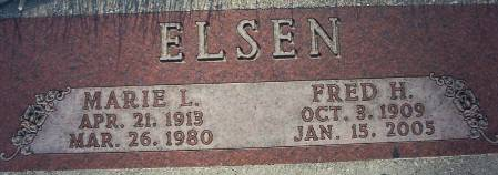 ELSEN, FRED H. - Plymouth County, Iowa   FRED H. ELSEN
