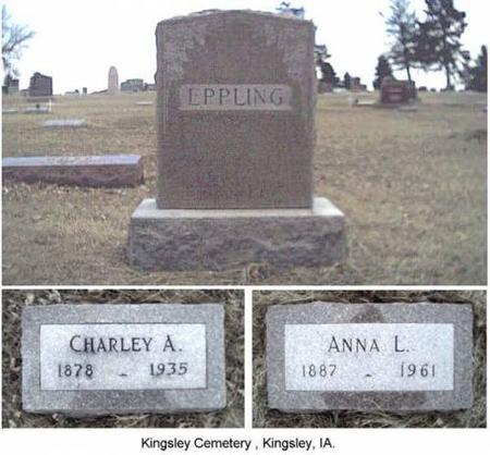 EPPLING, CHARLEY A. & ANNA L. - Plymouth County, Iowa | CHARLEY A. & ANNA L. EPPLING
