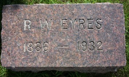 EYRES, RICHARD W. - Plymouth County, Iowa | RICHARD W. EYRES