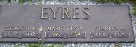 EYRES, MARIE - Plymouth County, Iowa | MARIE EYRES