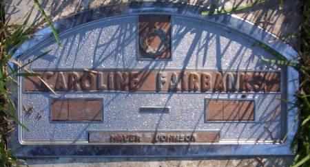FAIRBANKS, CAROLINE - Plymouth County, Iowa | CAROLINE FAIRBANKS