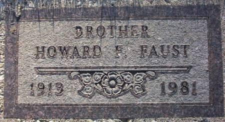 FAUST, HOWARD F. - Plymouth County, Iowa   HOWARD F. FAUST
