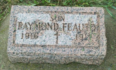 FEAUTO, RAYMOND - Plymouth County, Iowa | RAYMOND FEAUTO