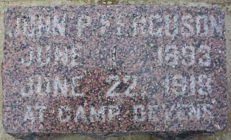 FERGUSON, JOHN P. - Plymouth County, Iowa | JOHN P. FERGUSON