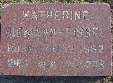 FISSEL, KATHERINE - Plymouth County, Iowa | KATHERINE FISSEL