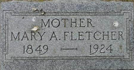 FLETCHER, MARY ANN - Plymouth County, Iowa   MARY ANN FLETCHER