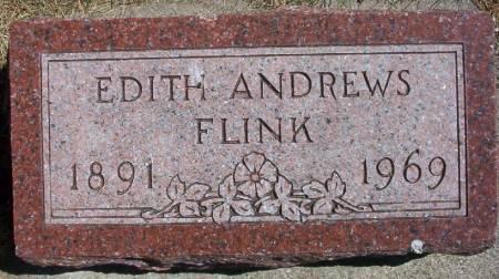 ANDREWS FLINK EVANS, EDITH - Plymouth County, Iowa   EDITH ANDREWS FLINK EVANS