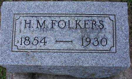 FOLKERS, HENRY M. - Plymouth County, Iowa | HENRY M. FOLKERS