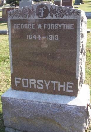 FORSYTHE, GEORGE W. - Plymouth County, Iowa   GEORGE W. FORSYTHE