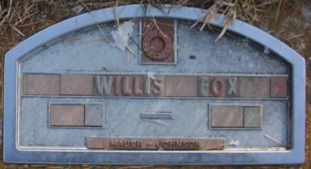 FOX, WILLIS L. - Plymouth County, Iowa | WILLIS L. FOX